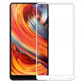 Protector pantalla cristal templado Xiaomi Mi Mix 2 Blanco