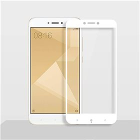 Protector pantalla cristal templado  Redmi 4X Blanco