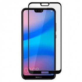 Protector pantalla cristal templado  Huawei P20 Lite Negro