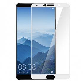 Protector pantalla cristal templado  Huawei Mate 10 Blanco