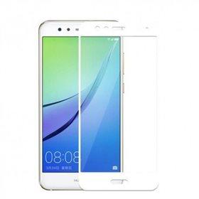 Protector pantalla cristal templado  Huawei P10 Lite Blanco