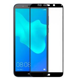 Protector pantalla cristal templado  Huawei P10 Lite Negro