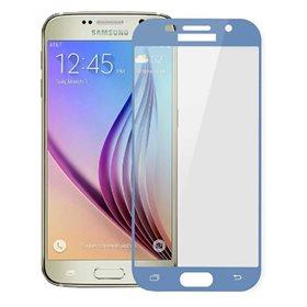 Protector pantalla cristal templado Samsung Galaxy A5 2017 Azul claro