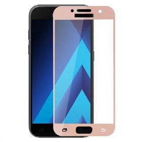 Protector pantalla cristal templado Samsung Galaxy A3 2017 A320F Rosa
