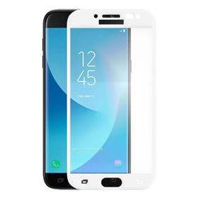 Protector pantalla cristal templado  Samsung Galaxy J5 2017 J530F / J5 Pro J530G Blanco