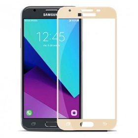Protector pantalla cristal templado Samsung Galaxy J5 2017 J530F / J5 Pro J530G Oro