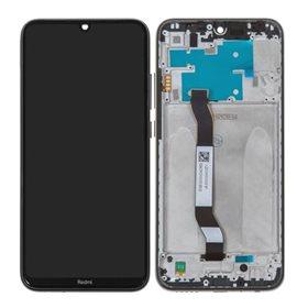 Pantalla completa original con marco Xiaomi Redmi Note 8 Negro