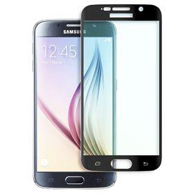 Protector pantalla cristal templado Samsung Galaxy S6 SM-G920  Negro