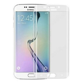 Protector pantalla cristal templado  Samsung Galaxy S6 Edge Plus G928 Blanco