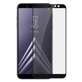 Protector pantalla cristal templado  Samsung Galaxy A6 Plus 2018 A605 Negro