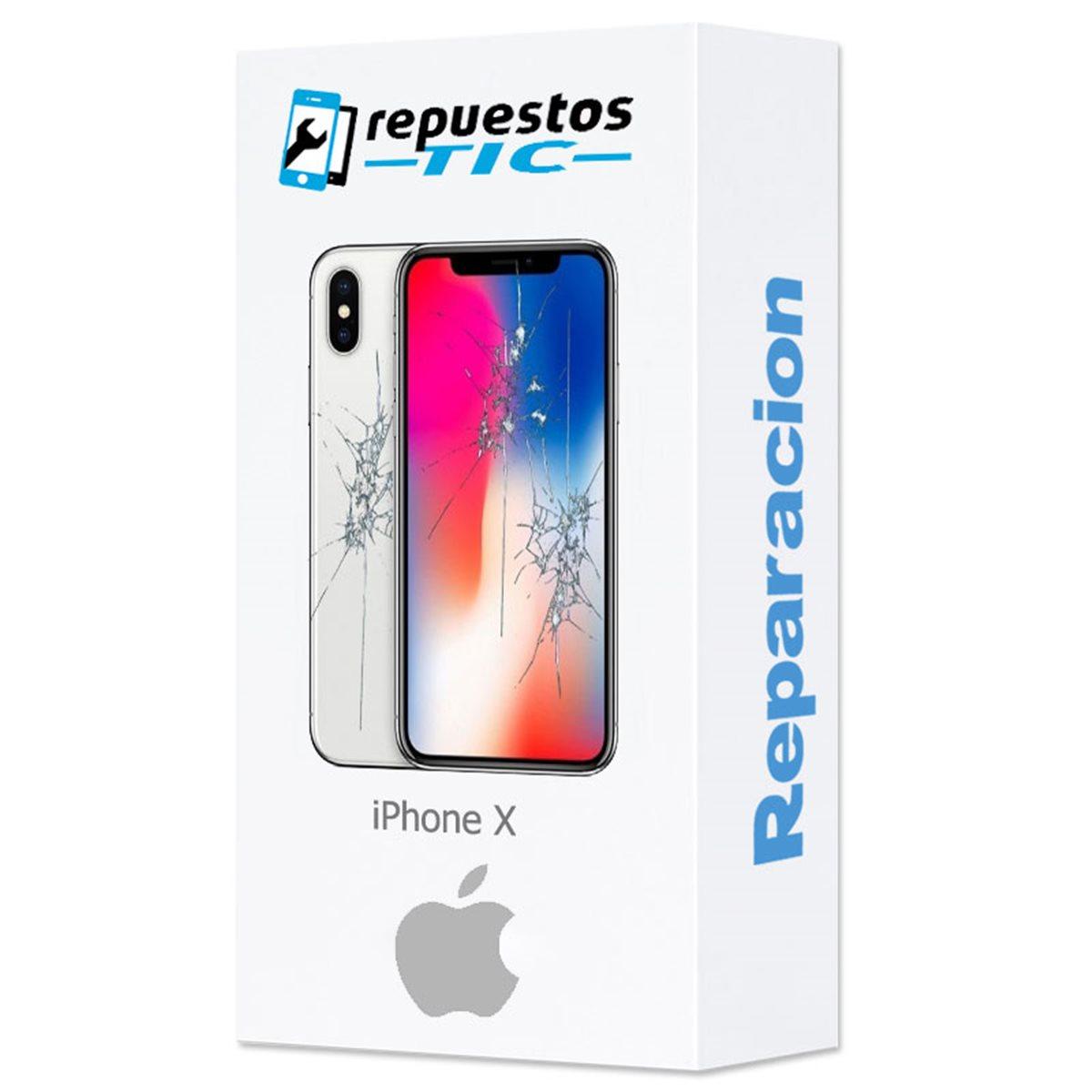 Reparacion Pantalla y tapa trasera iPhone X (pantalla AMOLED AAA+)