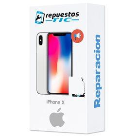 Reparación del altavoz polifonico (buzzer) iphone X