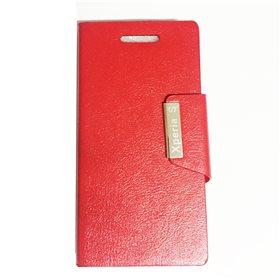Funda protectora tipo libro Sony Xperia S Rojo