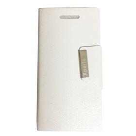 Funda protectora tipo libro Sony Xperia S Blanco