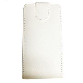 Funda protectora apertura vertical Sony Xperia S Blanco