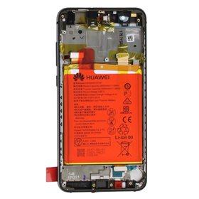 Pantalla original con marco y bateria Huawei P10 Lite Negro