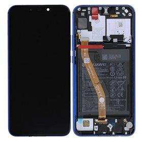 Pantalla original con marco y bateria Huawei P Smart Plus/ Nova 3i Purpura
