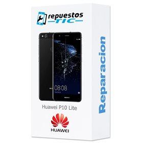 Reparacion/ cambio Pantalla original con marco y bateria Huawei P10 Lite Negro
