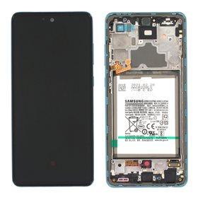 Pantalla original Samsung Galaxy A72 A725 / 5G A726B Azul