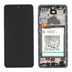 Pantalla original Samsung Galaxy A72 A725 / 5G A726B Violeta