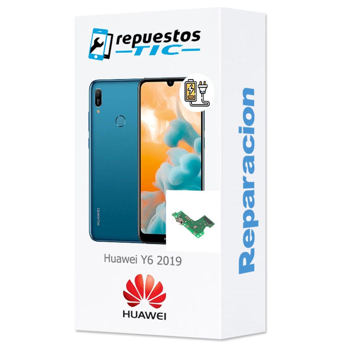 Reparacion/ cambio Modulo conector de carga y micro Huawei Y6 2019