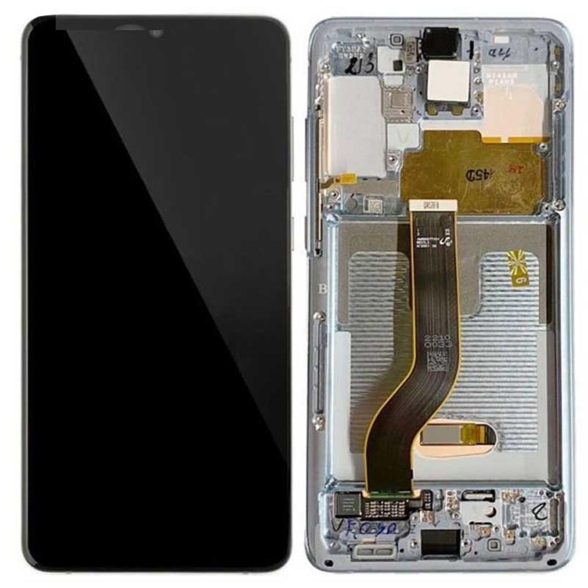 Pantalla original Samsung Galaxy S20 Plus 4G G985/ 5G G986 Blanco