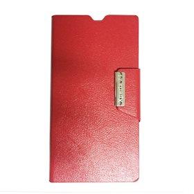 Funda protectora tipo libro Sony Xperia Z1 L39H Rojo
