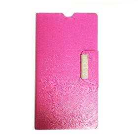 Funda protectora tipo libro Sony Xperia Z1 L39H Rosa