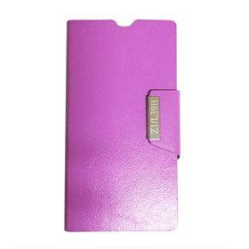 Funda protectora tipo libro Sony Xperia Z1 L39H Violeta