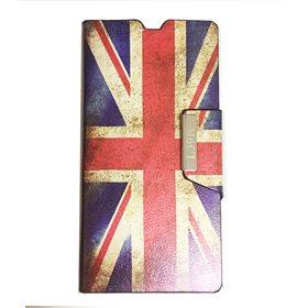 Funda protectora tipo libro Sony Xperia Z1 L39H Great Britain
