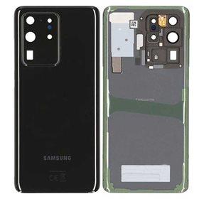 Tapa trasera original Samsung Galaxy S20 Ultra 5G G988 Negro