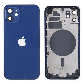 Chasis iPhone 12 Azul carcasa + tapa trasera