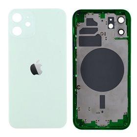 Chasis iPhone 12 Verde (Mint) carcasa + tapa bateria