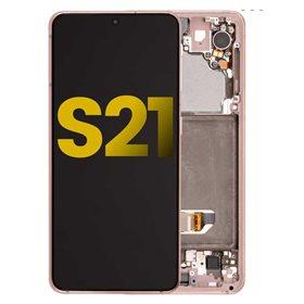 Pantalla original Samsung Galaxy S21 G991B Rosa