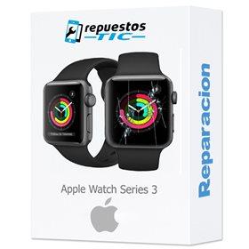 Reparacion/ cambio Pantalla original Apple Watch Serie 3 42mm (GPS solo) desmontaje