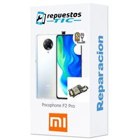 Reparacion/ cambio Modulo conector de carga y micro Pocophone F2 Pro