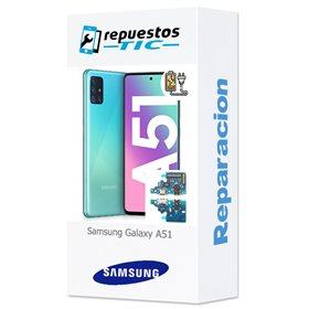 Reparacion/ cambio Modulo conector de carga y micro Samsung Galaxy A51, SM-A515
