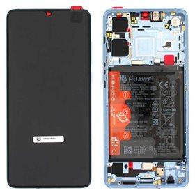 Pantalla original con marco y bateria Huawei P30 New Edition Breathing Cristal