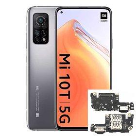 Reparacion/ cambio Modulo conector de carga y micro Xiaomi Mi 10T/ Mi 10T Pro