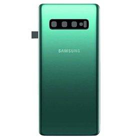 Tapa trasera Samsung Galaxy S10 G973 Verde (con lente)