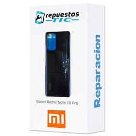 Reparacion/ cambio Tapa trasera Xiaomi Redmi Note 10 Pro Negro