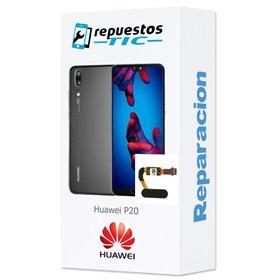 Reparacion/ cambio boton home Lector huellas digital Huawei P20