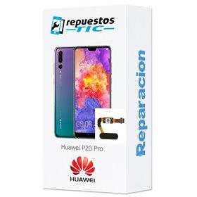 Reparacion/ cambio boton home Lector huellas digital Huawei P20 Pro