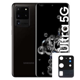 Reparacion/ cambio Lente Camara trasera original Samsung Galaxy S20 Ultra 5G G988