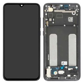 Pantalla completa original con marco Xiaomi Mi 9 Lite Negro