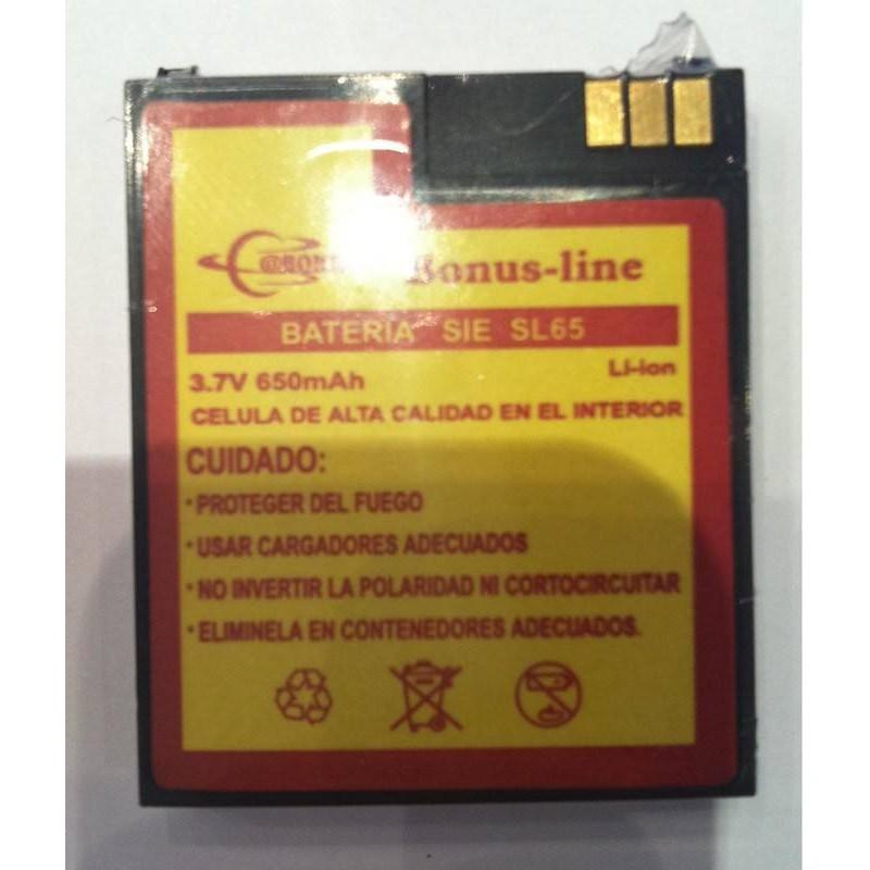 Bateria Siemens SL65 670 mAH Li-ion