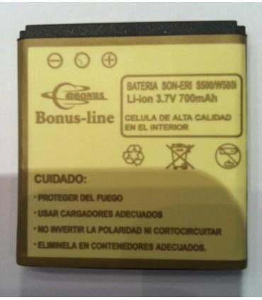 Sony Eircsson X10 mini PRO, W640, W580i, BST-38, 700m/Ah LI-ION DE LARGA DURACION