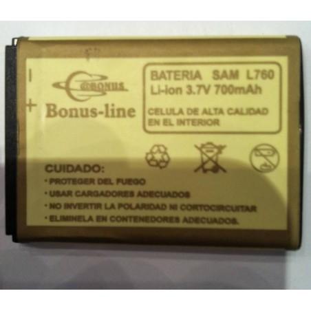 Bateria Samsung L760 700m/AH Li-ion
