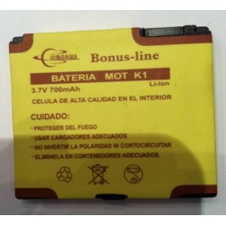 Batería BC50 para Motorola L2, L6, K1, KRZR, V3x 700m/AH Li-ion de Larga duracion