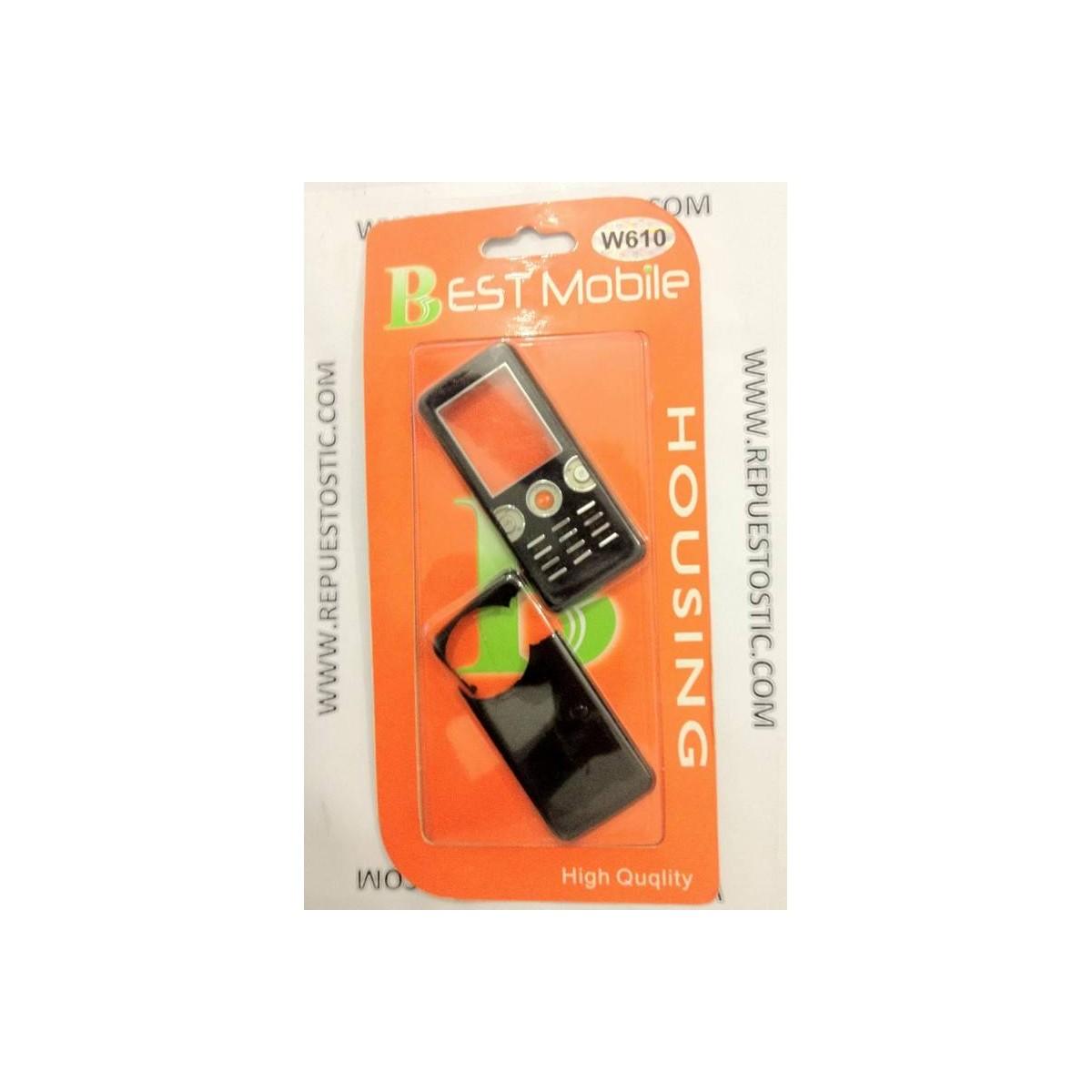 Carcasa Sony Ericsson W610 Negra